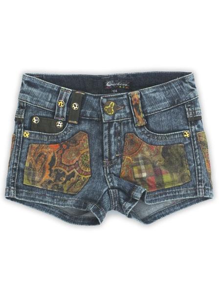 Carbone Kinderkleding.Carbone Korte Broek Voor Meisjes Blauw Nr 538692