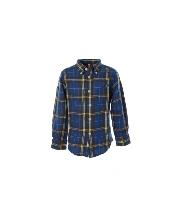 Afbeelding Bellerose Ruiten shirt cobalt/rood/geel