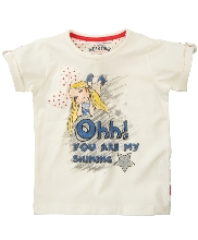 Afbeelding Name It Jasmin SS Top Cloud Dancer 13078276 Mini