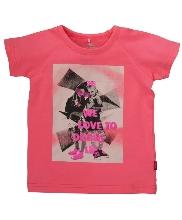 Afbeelding Name It Kofine SS Top Neon Pink 13092989