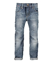 Afbeelding loose fit jeans