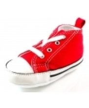 Afbeelding Converse babyschoenen online First Star Rood ALL31