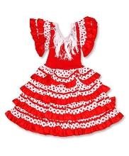 Afbeelding Spaanse jurk La Luzz