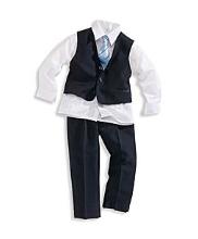 Afbeelding Palomino Kostuum 4-delig kostuum, bestaand uit: donkerblauw