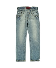 Afbeelding Blue Rebel straight fit jeans BOY