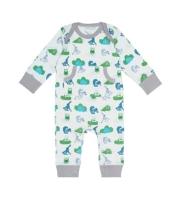 Afbeelding Fresk Pyjama met bosdiertjes