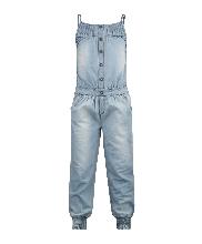 Afbeelding denim jumpsuit