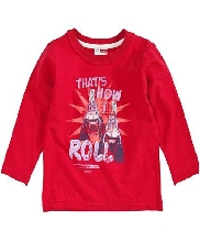Afbeelding Name it Renea LS Top Hot Red 13064180 Kids
