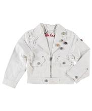 Afbeelding Billie Jeans wit spijkerjasje girl