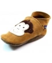 Afbeelding Inch Blue babyslofjes online Cheeky Monkey Beige / Khaki INC17