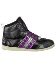 Afbeelding Zwarte Quick Sneakers QUEBEC MID JR LACE 4