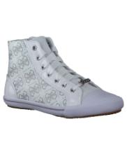 Afbeelding Witte Guess Sneakers LA VERNE HI